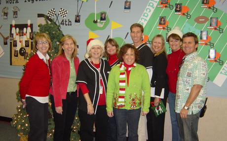 Office Staff Holiday photo
